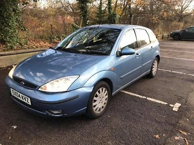 Ford Focus 2004 Ghia 1.8 Petrol Manual LPG gas 65,000 miles Only No Reserve!