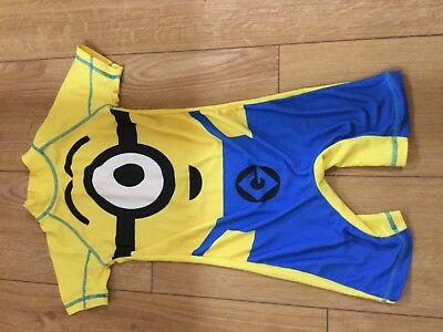 Boys Next Minion Swimsuit Size3/4 Years