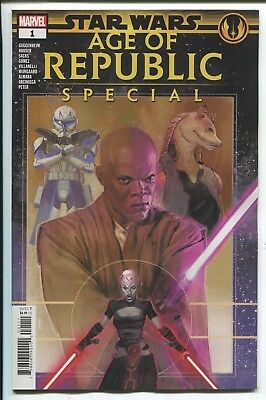 Star Wars: Age Of Republic Special #1 - Rod Reis Main Cover - Marvel Comics/2019