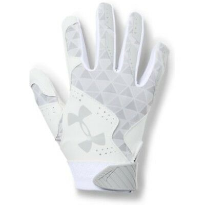 Under Armour Radar Womens Batting Gloves 1299550 - WH/MSV - L
