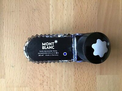 Mont Blanc Royal blue fountain pen refill ink bottle 50ml  New!
