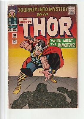 Journey Into Mystery 125 Thor not a great copy of the comic see pictures
