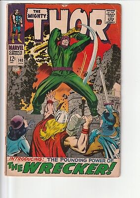 Thor 148 poor reader copy only many defects see picture