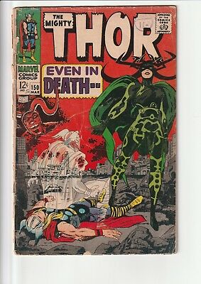 Thor 150poor reader copy only many defects see picture