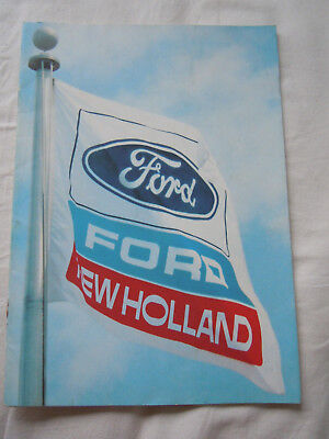 @Vintage Ford, New Holland and now Versatile Tractor Brochure@
