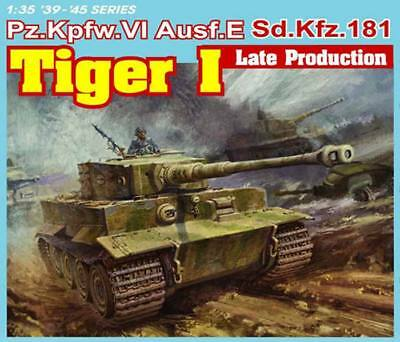 1/35 German Sd.Kfz. 181 TIGER I Late Production (3-in-1) ~~ Dragon DML #6406