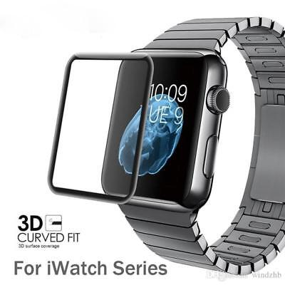 iWatch 42mm Apple Series 3 Screen Protector 9H Hardness 3D Tempered Glass UK