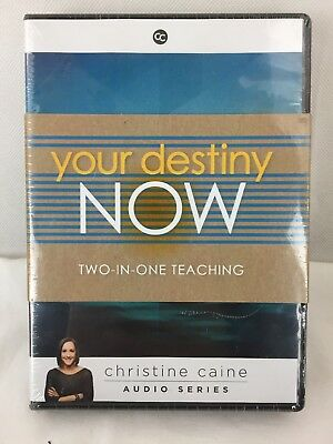 NEW! Your Destiny Now: Eternal  Youth & It's Not Over Audio CD Christine Caine