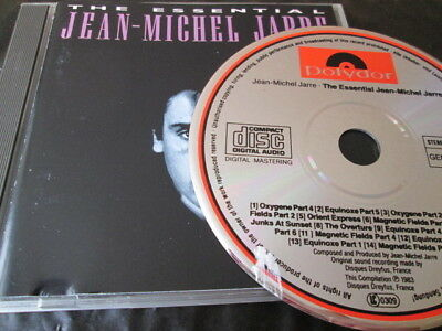 Jean Michel Jarre - The Essential Original Cd: No Barcode Greatest Hits Very