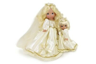 Precious Moments 9 Inch Doll, Flower Girl Only Bride Sold Separately, New, 3687