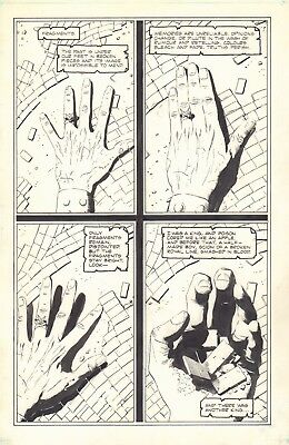 Uther: The Half Dead King art Bo Hampton pg 1