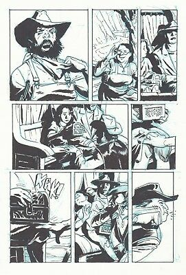 3 Devils page 20 graphic novel Art Bo Hampton
