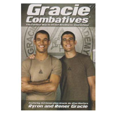 Ryron and Rener Gracie Gracie Combatives Video Training Course