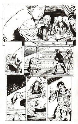Demons of Sherwood [IDW 2014] pg 20 by Bo Hampton