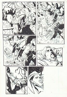 Demons of Sherwood [IDW 2014] pg 88 by Bo Hampton