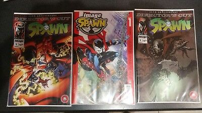 Spawn #1~Director's Cut~Set~Variant A,b,c~Todd Mcfarlane Art~New Movie Coming