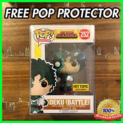 Funko Pop My Hero Academia Battle Deku #252 Hot Topic Exclusive MHA