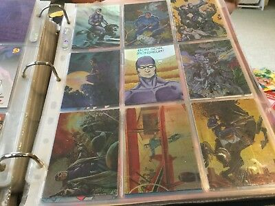 1996 Intrepid The Phantom Gallery set of 9 Legends chase insert cards