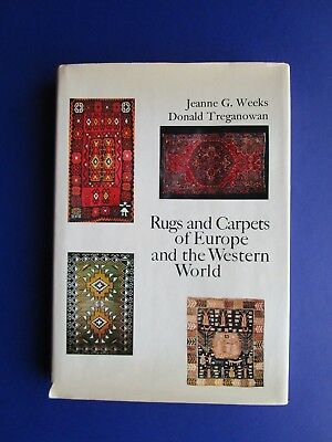 1969 RUGS AND CARPETS OF EUROPE AND WESTERN WORLD, HB/DJ Color & B-W Photos