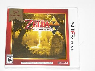 NEW&SEALED       Legend of Zelda: A Link Between Worlds       Fast Free Shipping