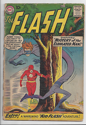 Flash #112 First appearance Elongated Man