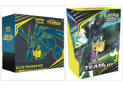 Pokemon Team Up Elite Trainer Box + Build & Battle Prerelease Kit Bundle