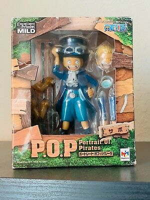 Megahouse Portrait.Of.Pirates One Piece CB-EX Sabo Figure US seller