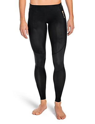 Skins Women's A400 Long Tights-Black, Large