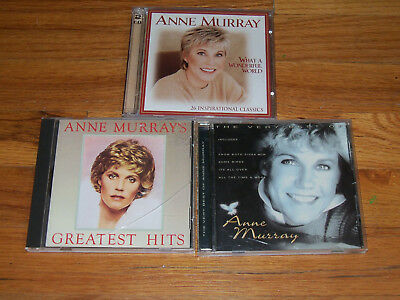 Anne Murray CD greatest hits/the very best of/what a wonderful world inspiration