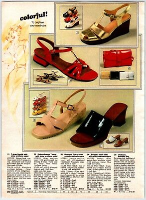 1970'S VINTAGE  Shoe Styles Print Ads Clippings