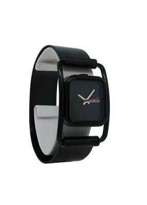 Nixon A238 001 The Dynasty Women's Black Stainless Steel Analog Watch