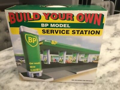 BP Model Gas Station Kit Toy Sealed. New in original box . Build your own