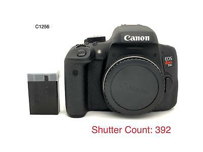 Canon EOS Rebel T6i DSLR Camera - Body Only (Shutter Count:392)