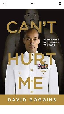 Cant Hurt Me Master Your Mind and Defy the Odds by David Goggins Hardcover