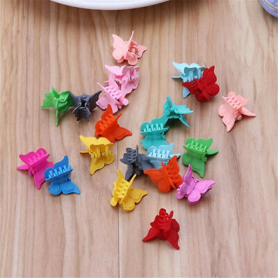 20PCS/Set Mini Hair Claws Clips Clamp Butterfly Shape Kids Baby Hair Accessories