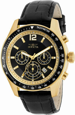 Invicta Specialty 17771 Men's Round Chronograph Date Clear Stone Analog Watch