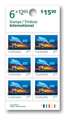 2019 - From Far and Wide: Booklet of 6 stamps (International) -   MNH