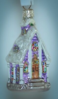 Christopher Radko LITTLE GEMS Ornament MIDNIGHT BLESSINGS CHAPEL 99-970-0 Boxed