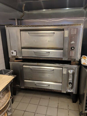 Blodgett Gas Stone Deck Pizza ovens - Model 1000