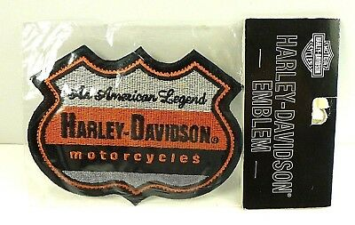 "Harley Davidson Patch 3"" x 4"""