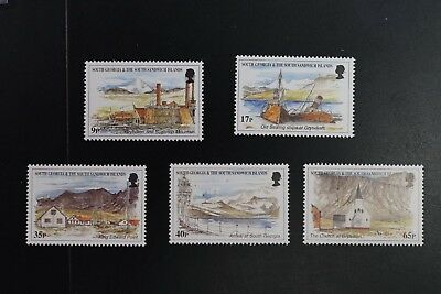 South Georgia #225-9 1999 Scenic set VF MNH 2017 cv$18.25 (v418)