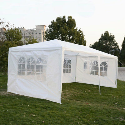 Outdoor 10'x20'Canopy Party Wedding Tent Gazebo Pavilion /w Removable Sidewall