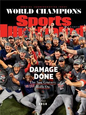 Sports Illustrated *RED SOX - DAMAGE DONE* World Series Special Edition 2018 NEW