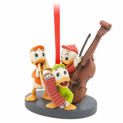 Disney Sketchbook 2017 Huey Dewey Louie Scrooge Donald Duck Nephews Ornament NIB
