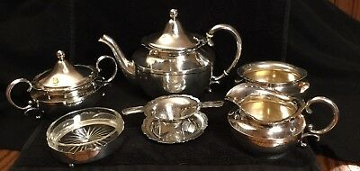 Shreve And Company Sterling San Francisco Silver 6 Piece Vintage Tea Set