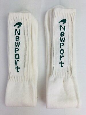 2 Pairs Vintage Newport Cigarettes Promo Hip Hop Tube Socks 80s Made In Usa