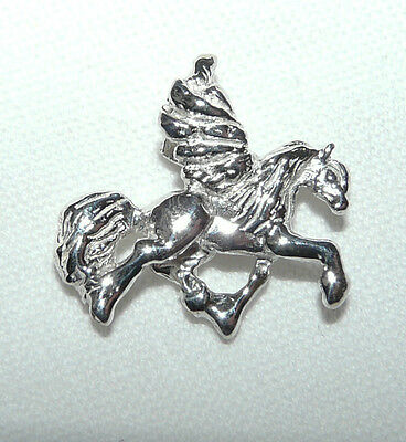 Pegasus Pendant Guardian Necklace Stainless Steel Flying Horse EquineJewelry