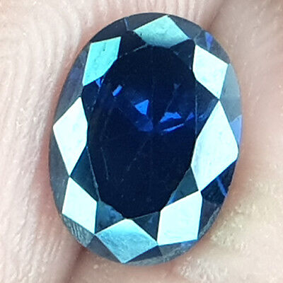 2.00 Cts Untreated Exceptional D Block Aaa+ Violet Blue Natural Tanzanite