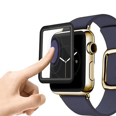 1X 38/42mm Clear Ultra Full Case Cover Screen Protector For Apple Watch Series 3