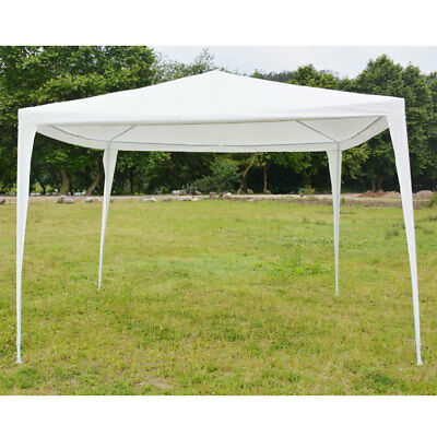 10'x10' Outdoor Wedding Party Canopy Tent Pavilion Cater Event Sun Shade Gazebo